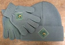 Blue Stocking Cap with Matching Gloves - Kids Size - Made by Harry Hall