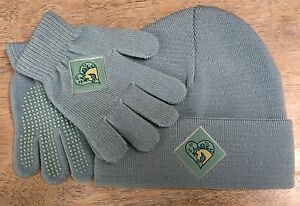Harry Hall Stocking Cap w/ Matching Gloves - Kids - One Size Fits All