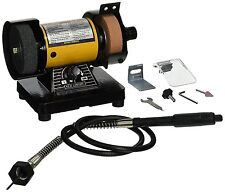 """3""""  Bench Grinder w/Flex Shaft Variable speed Deburring, Grinding and Polishing"""