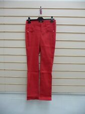 Bonprix Red Size 8 Trousers Smart Casual  Evening BNWOT G014