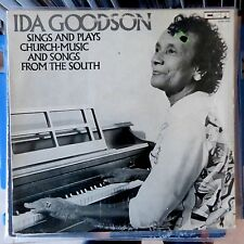 IDA GOODSON LP SINGS AND PLAYS SONGS & BLUES FROM THE SOUTH 1975 DENMARK VG/EX