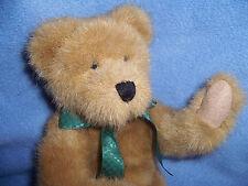 "Boyds 11"" Febb plush stuffed Bear first ever bean bear F.E.B.B. Honey brown"