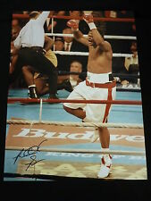 Riddick Bowe Signed 12x16 Boxing Photograph. :D
