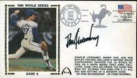 Dan Quisenberry Signed Jsa Certed 1985 Fdc Authentic Autograph