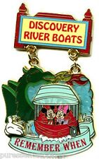 Disney Pin: WDW White Glove - Remember When: Discovery River Boats (LE 750)