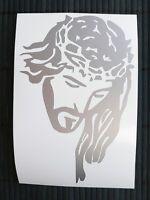 adesivo Gesù Jesus uomo man sticker decal Cattolico car auto moto film Catholic