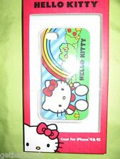 NEW Hello Kitty iPhone 4 4S Phone Clip Case Cover Single Piece Green