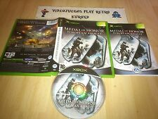 MICROSOFT XBOX MEDAL OF HONOR EUROPEAN ASSAULT COMPLETO PAL ESPAÑA
