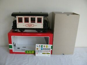 LGB Trains Jubilaums Express 101 Year Anniversary Passenger Car Lighted #1982 EX