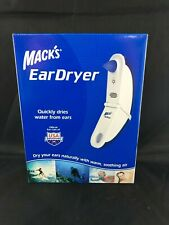 Mack's Ear Dryer Quickly Dries Water From Ears NIB