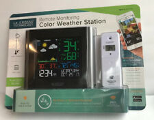 LA CROSSE TECHNOLOGY 2017434 WIRELESS REMOTE MONITORING COLOR WEATHER STATION