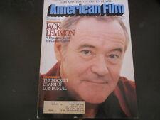Jack Lemmon, Luis Bunuel - American Film Magazine 1982