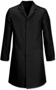 Warehouse Lab Coverall Work Coat Black