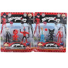 6pcs Miraculous Ladybug Action Figure Toys Marinette Adrien Noir Cat PVC ToyKits