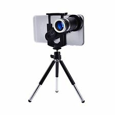 8X Optical Zoom Telescope Mobile Camera Lens Kit With Tripod & Adjustable Holder