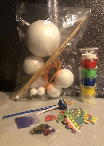 Solar Planet Kit Set Diy Project, Kids Solar System Project Set & Free Gift 🥰