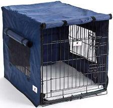 Premium Waterproof Dog Crate Covers, Blue, Small, Medium, Intermediate & Large