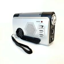 Wind Up Portable Radio, Torch & Panic Alarm - Small / Pocket