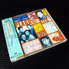 Dick Lee - Peace Life Love JAPAN Sample CD W/OBI WMC5-444 #142-3