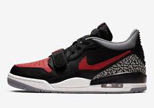 New Men Air Jordan Legacy 312 Low BRED Shoes (CD7069-006)  Black/Univ Red-Cement