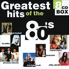 Greatest Hits of the 80's (8CD-Box, 144 tracks) Hot Chocolate, Kim W.. [xCD-Set]