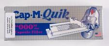 "CAP-M-QUIK Capsule Filler  SIZE ""000""  (Capsule Filling Machine without tamper)"