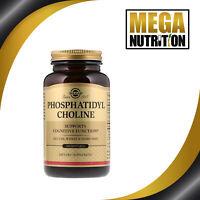 Solgar Phosphatidyl Choline 100 Softgels | Support Brain Cognitive Function