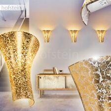 Licht Effekt Wohn Schlaf Raum Leuchte goldfarben Up Down Wand Lampen Flur Dielen