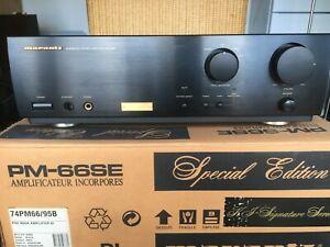 Marantz PM 66SE KI Signature Integrated Stereo Amp - Original Box/packaging