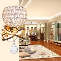 LC_ moderno semplice cristallo da parete luce lampada portacandele camera letto