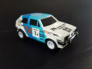 Vintage Tomy Aurora AFX Mk2 VW Golf HO 1/64 Slot Car