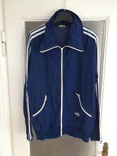Vintage adidas Jacke 70er Blau L old school Jacket retro Tracktop