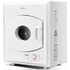 Electric Tumble Compact Laundry Dryer Stainless Steel Wall Mounted 2.65 cu .ft