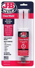 JB J-B Weld 50112 - ClearWeld - 5 Minute Quick Setting Epoxy - T48 Class Post