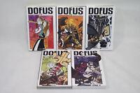 DOFUS lot de 5 livres BD ANKAMA n°3/6/7/8/10 Manga 2009 Bande dessinée