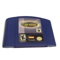 Tony Hawk's Pro Skater - Nintendo 64 N64 Blue Cartridge - Tested And Working