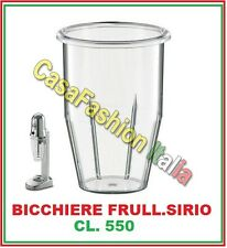 BICCHIERE PLASTICA CL.550 PER FRULLATORE FRAPPE MIXER SIRIO PROFESSIONALE 198315
