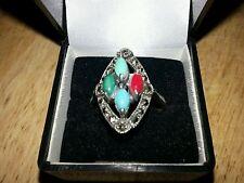 Turquoise Ring Art Deco Fine Jewellery