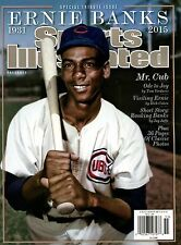 Sports Illustrated Magazine Tribute 1931-2015 Chicago Cubs ERNIE BANKS