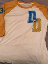 Disney Parks Donald Duck Women's Baseball Shirt Size Medium-Nwt!