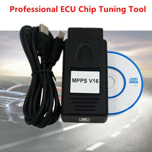 MPPS V16 Professional ECU Chip Tuning Tool Read /Write Memory Diagnostic Service