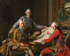 King Gustav III of Sweden and his Brothers Alexander Roslin Könige B A3 00368