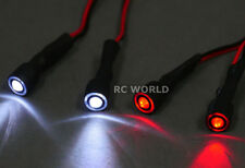 RC Racing Drone Quad LIGHT SYSTEM POWERFUL 10mm HALO LED - WHITE + RED + WIRE