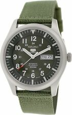 Seiko 5 Men's Watch SNZG09K1 Sport Analog Automatic- Green