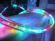 LED Rope Light Christmas Strip Outdoor String Party Garden Landscape Multi Color