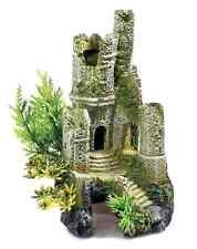 """Classic Castle Ruin 9"""" Aquarium BIORB Ornament"""