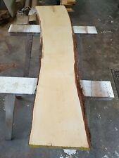 tasmanian Huon pine thick natural edge timber slab