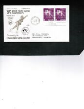 CANADA 1972  FIGURE SKATING   FDC PAIR  #559   BOX 503
