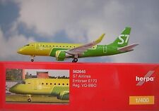 Herpa Wings 1:400 Embraer E170  S7 Airlines VQ-BBO  562645  Modellairport500