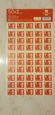 More details for 50 x royal mail first class large letter stamps. new. next day special delivery.